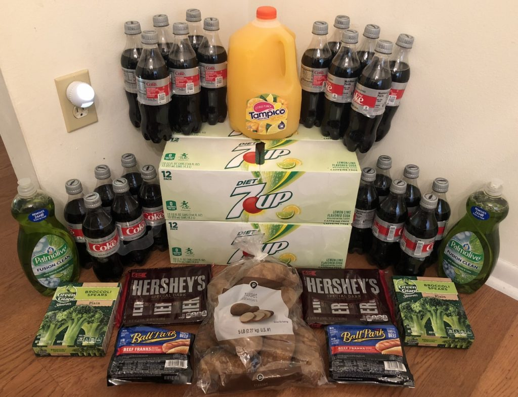 My 8/29 Publix Trip - $82.53 for $37.51 or 55% Off