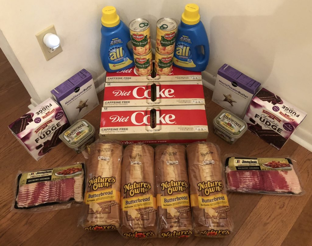 My 10/31 Publix Trip - $90.78 for $36.19 or 60% Off