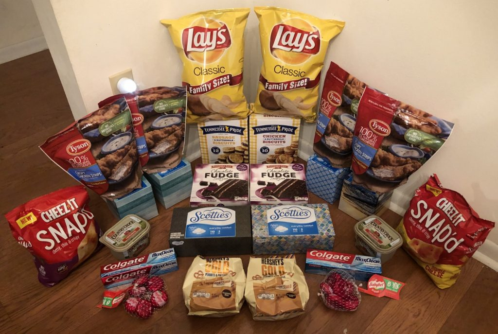 My 1/23 Publix Trip - $118.25 for $38.54 or 67% Off