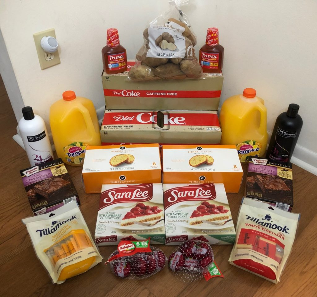 My 2/5 Publix Trip – $93.14 for $33.65 or 64% Off