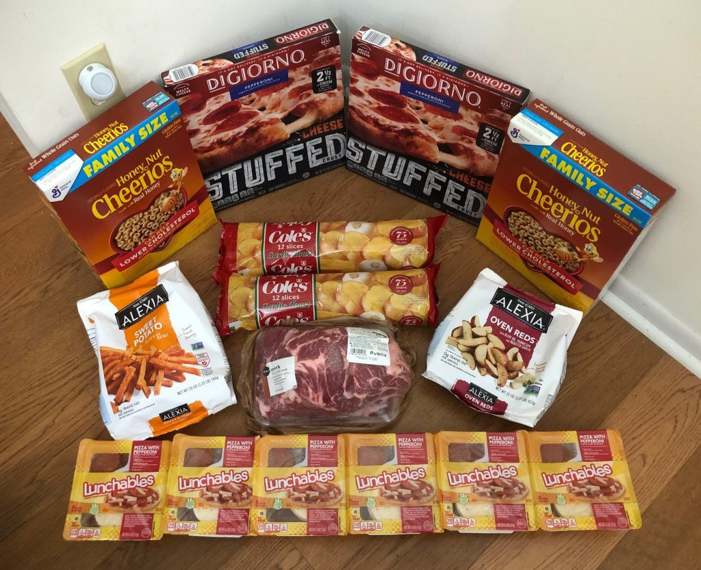 My 8/12 Publix Trip – $75.03 for $40.40 or 46% Off