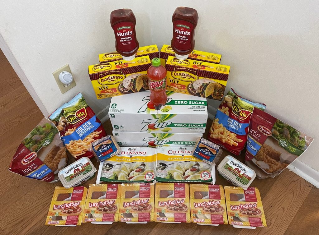 My 1/27 Publix Trip – $107.63 for $51.84 or 52% Off