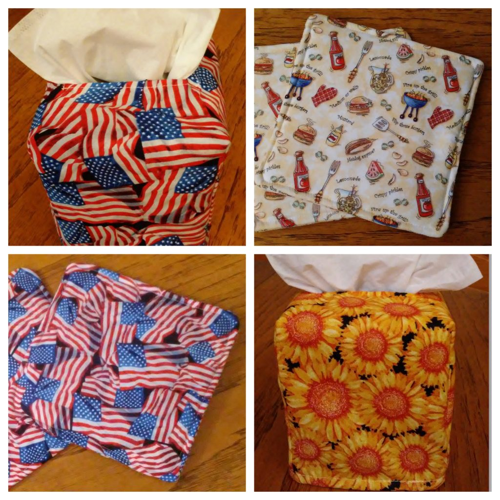Great Mother's Day Gift Ideas: Potholders and Tissue Box Covers