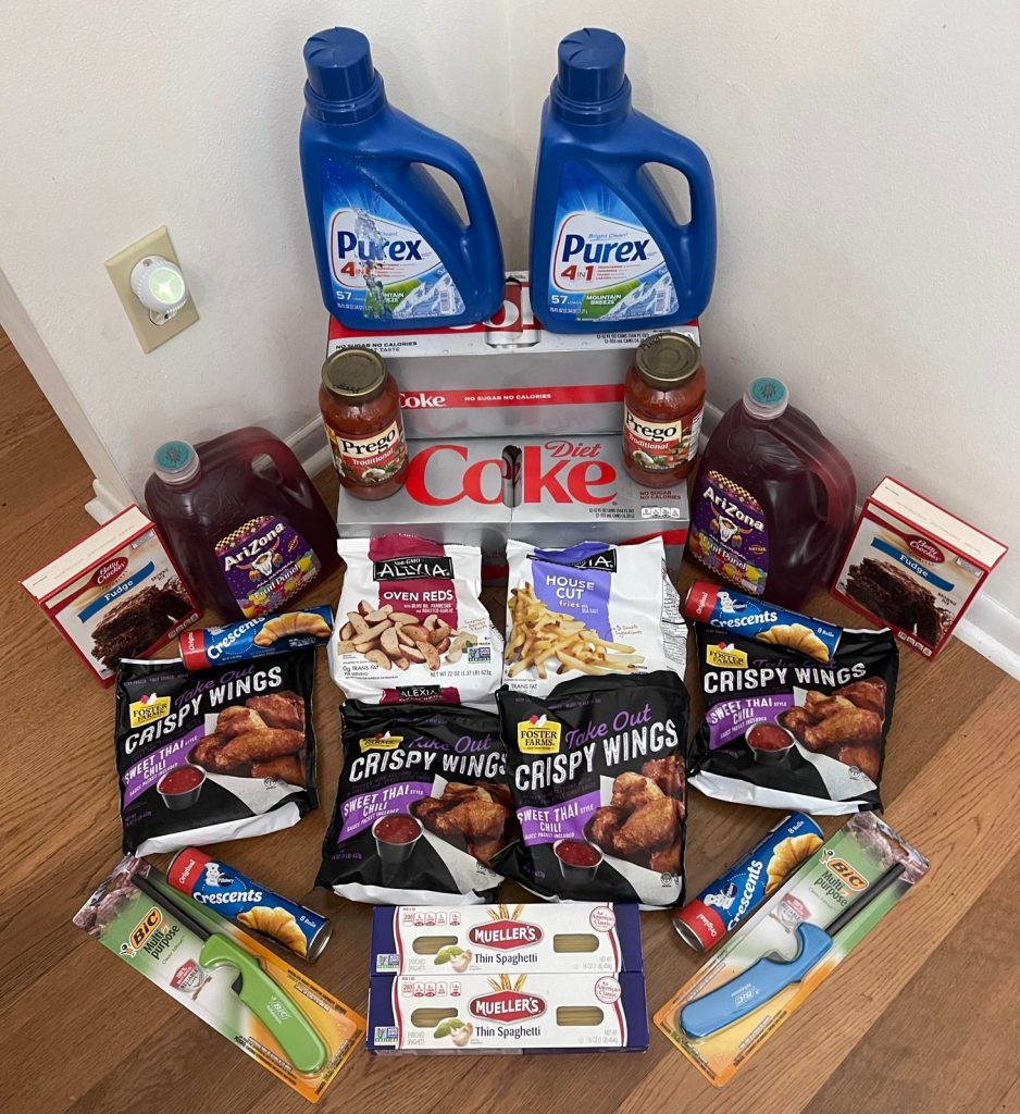 My 8/18 Publix Trip – $115.72 for $54.36 or 53% Off